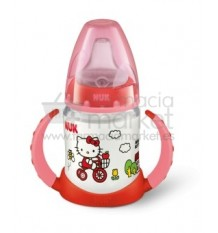 Nuk Biberon Entrena hello kitty Rojo 150 ml
