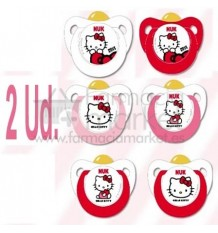 Nuk Chupete Latex Hello Kitty T1 2 unidades