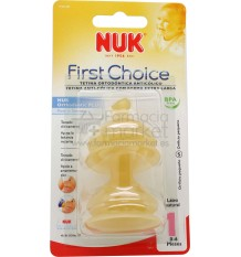 Nuk Tetina First Choice Latex S1 Agua 0-6