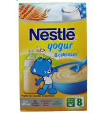 nestle cereales papilla 8 cereales yogur