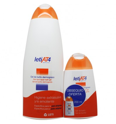 Leti At-4 Gel Baño 750 ml Pack ahorro