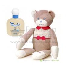 Mustela Bebe Colonia Musti 100ml + regalo osito Rosa