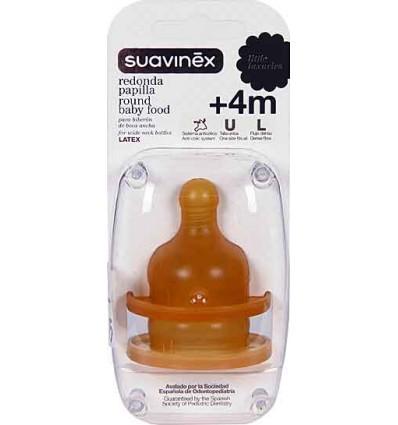 Suavinex Tetina Boca ancha Papilla 2 unidades