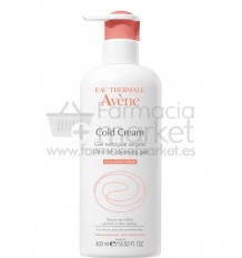 Avene Cold Cream Gel Limpiador 400 ml