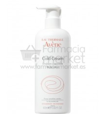 Avene Cold cream Emulsion corporal 400 ml