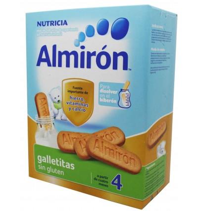 almiron sin gluten galletas