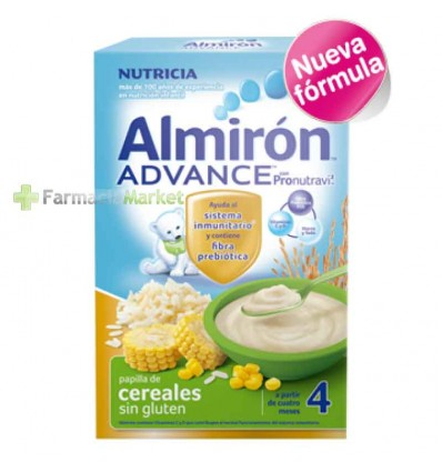 Almiron Advance Cereales Papilla Sin gluten 500 g
