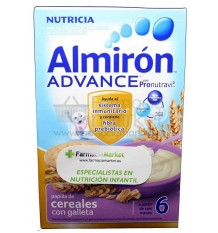 Almiron Advance Cereales Papilla con galleta 500 g