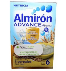 Almiron Advance Cereales Papilla 8 cereales miel 500 g