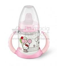 Nuk Biberon Entrena Hello Kitty Rosa 150 ml