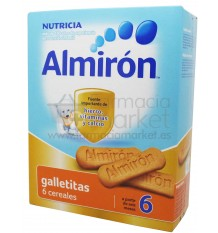 Almiron Galletitas 6 cereales 180 g