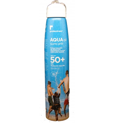 Protextrem Aqua oil suncare spray gel  factor 50 150ml