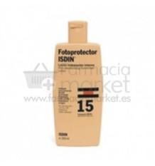 Fotoprotector Isdin 15 300 ml Loción hidratante 300 ml