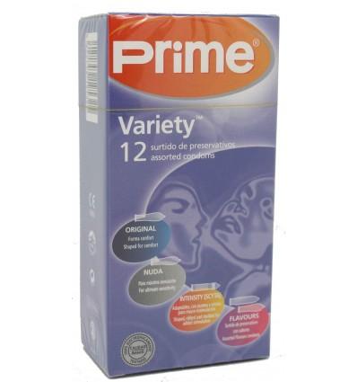 Prime Preservativos Variety 12 unds