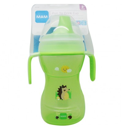 Mam Baby Biberon learn to drink 270 ml Cup Verde