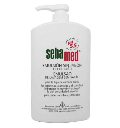 Sebamed Emulsion Sin Jabon 1000 ml