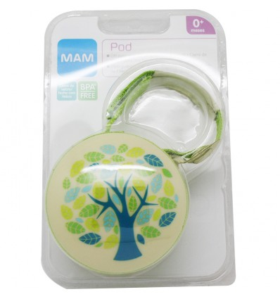 Mam Baby Pod Porta chupetes Verde