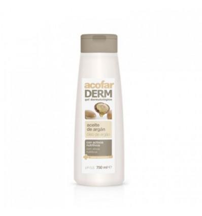 Acofarderm Gel de Baño Aceite de Argan 750 ml