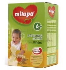 Milupa 8 cereales miel efecto bifidus 500g