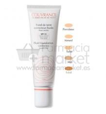 Avene Couvrance Maquillaje Fluido Porcelana 01 30 ml