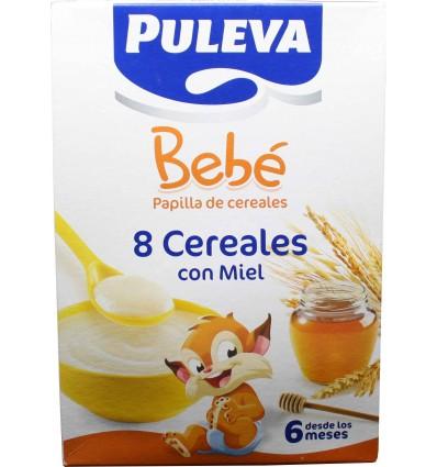Puleva bebe 8 cereales Miel 600 gramos