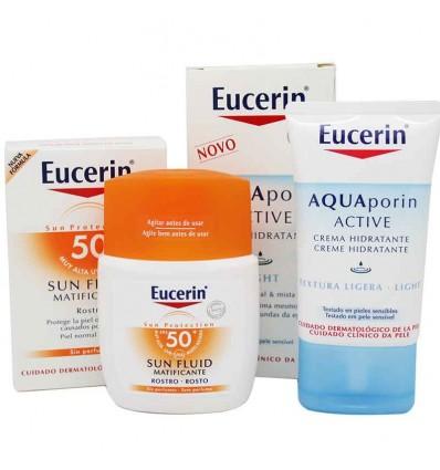 Eucerin Solar 50 Fluido facial matificante