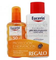 Eucerin Solar 50 Spray transparente 200 ml