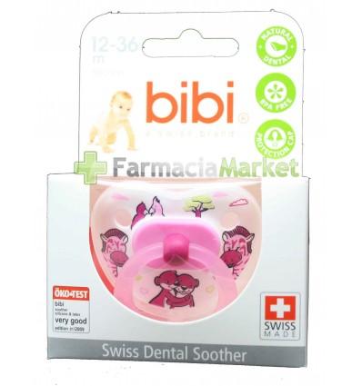 Bibi Chupete Silicona Rosa 12-36 meses