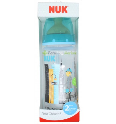 Nuk Biberon Latex Travel 2L Niño 300ml