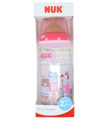 Nuk Biberon Latex Travel 2L Niña 300ml