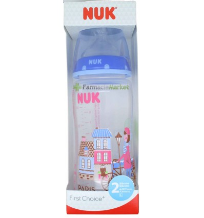 Nuk Biberon Silicona Travel 2L Niña 300ml