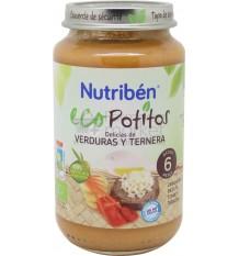 Nutriben Eco potito Ternera Verduras 250 g