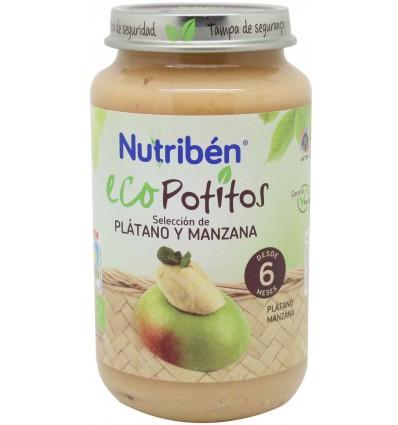 Nutriben eco potito platano manzana