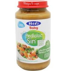Pedialac Sin Potito Selección de verduras con ternera 250g
