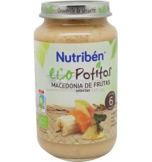 Nutriben Eco Potito Macedonia frutas 250g
