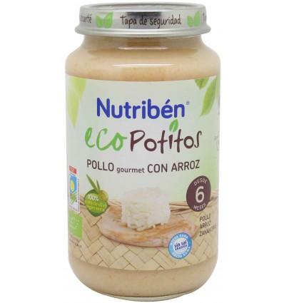 Nutriben Eco Potito Pollo gourmet 250g