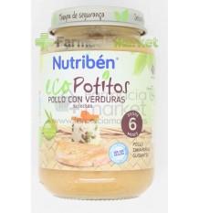 Nutriben Eco Potito Pollo Verduras 200g