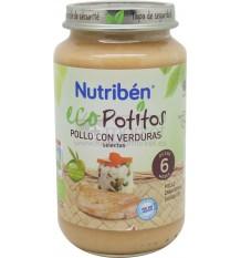 Nutriben Eco Potito Pollo Verduras 250 g