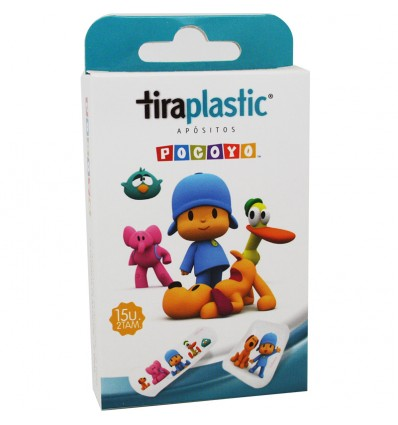 Pocoyo Tiritas de Plastico 15 unidades