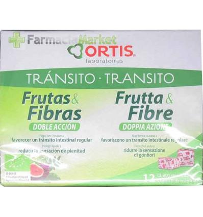 Ortis Transito Frutas y Fibra Doble Acción 12 unidades