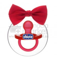 Chicco Chupete Gommotto Todogoma Silicona Rojo Edicion Navidad