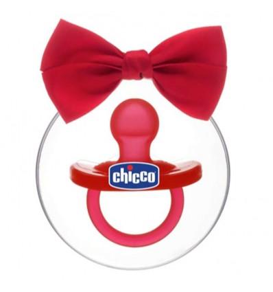 Chicco Chupete Gommotto Todogoma Silicona Rojo Edición Navidad