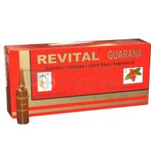 Revital Guaraná 20 ampollas