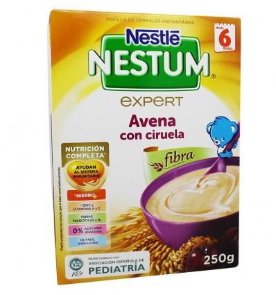Nestum cereales avena ciruela 250 cerales con fibra - Cereales bebe 5 meses ...