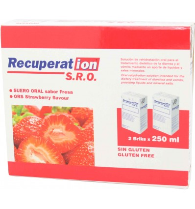 Recuperation Sro Fresa 2x250 ml