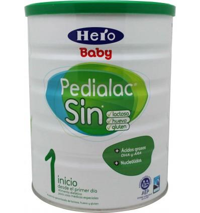 Pedialac Sin lactosa 800 g