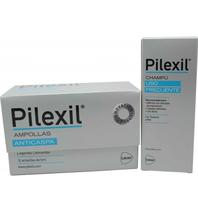 Pilexil Ampollas anticaspa