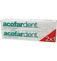 Acofardent Pasta dentifrica Anticaries 75 ml DUPLO