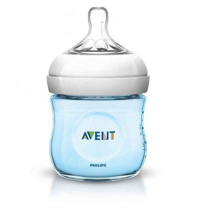 Biberon avent natural 125 ml azul