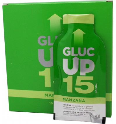 Gluc Up 15 Manzana 10 sticks